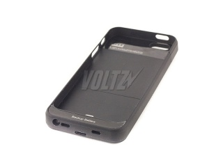 Power Case для iPhone 5/5S 2800 mAh (2000 mAh) черный (BSS-104)