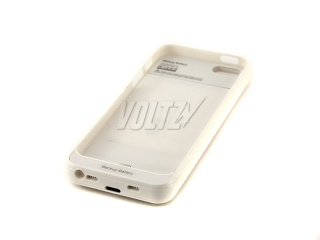Power Case для iPhone 5/5S 2800 mAh (2000 mAh) белый (BSS-104)