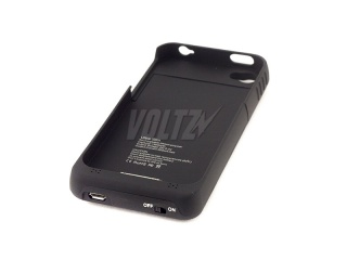 Power Case для iPhone 4/4S 1900 mAh (1200mAh) черный (V)