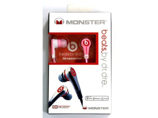 H/F 3.5mm MONSTER-beats by Dr. Dre MD-88 розовая