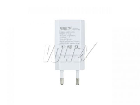 СЗУ PROVOLTZ 2в1 1A + Cable for iPhone 4 белая
